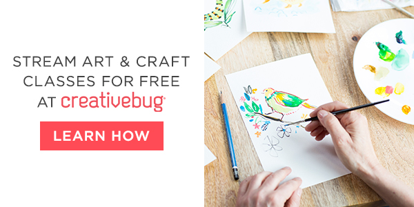 Click to get started with Creativebug today!