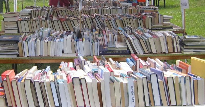 The Friends Book Sale is Coming Soon!