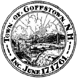 Town of Goffstown Seal est. 1761