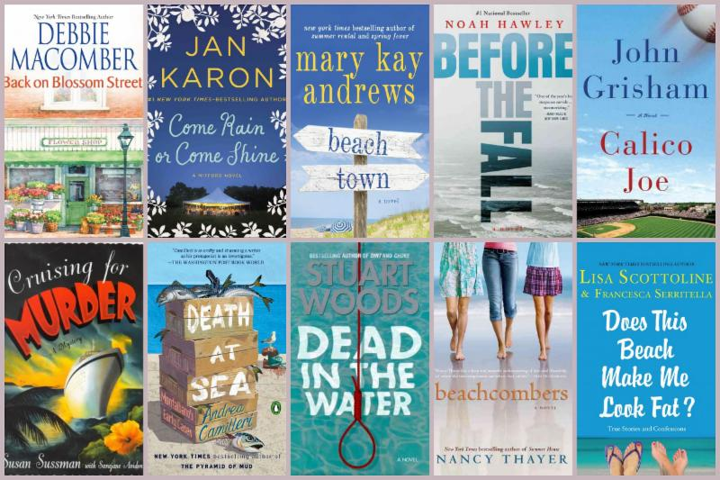 10 cover images of Beach Reads to kick off your summer