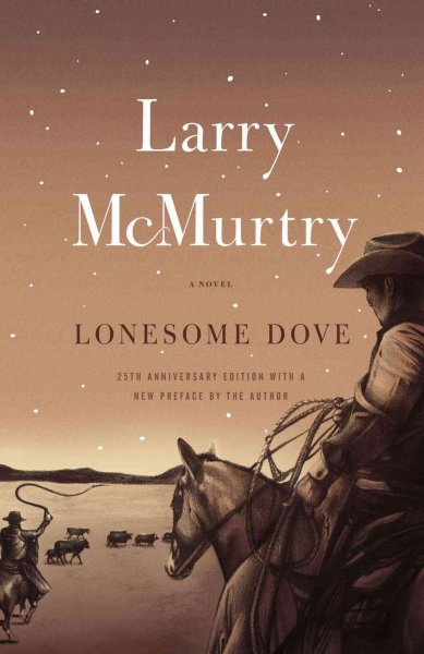 Lonesome Dove book cover by Larry McMurtry