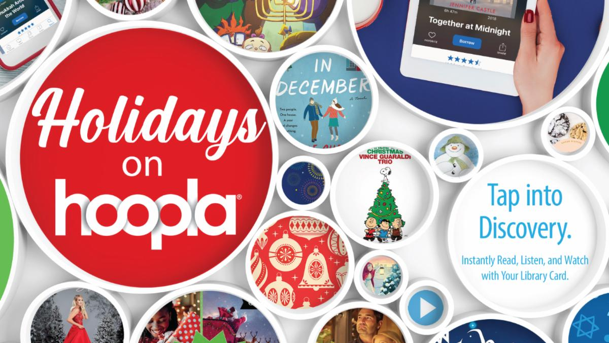 Winter Holidays from hoopla