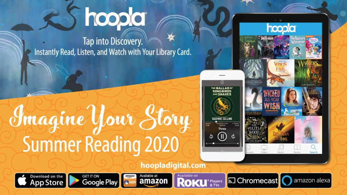 Summer Reading with Hoopla