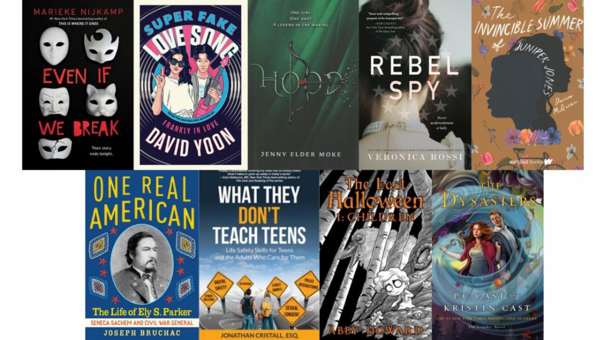 New Teen Books for December
