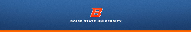 Header image for official Boise State Correspondence.