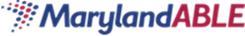 Maryland Able logo in red and blue