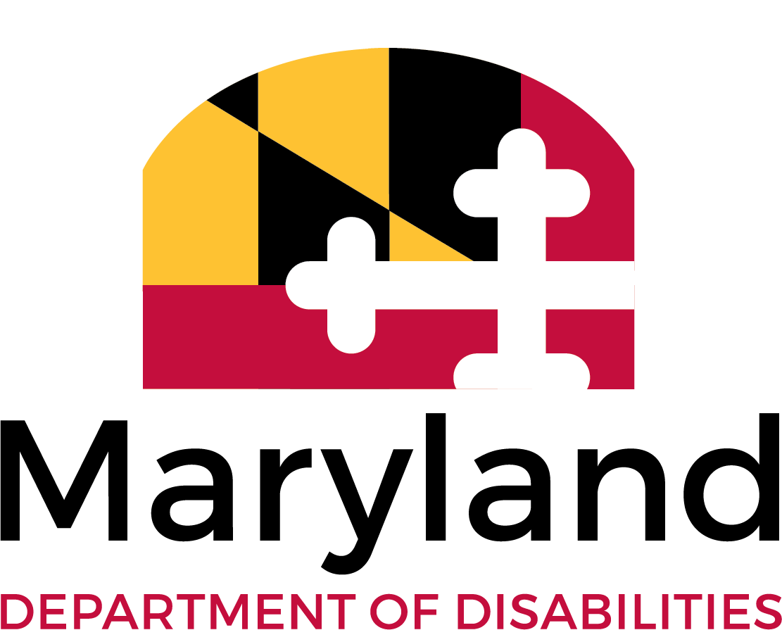 MDOD Logo with MD flag design above