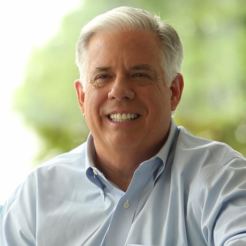 Up close headshot of Governor Hogan