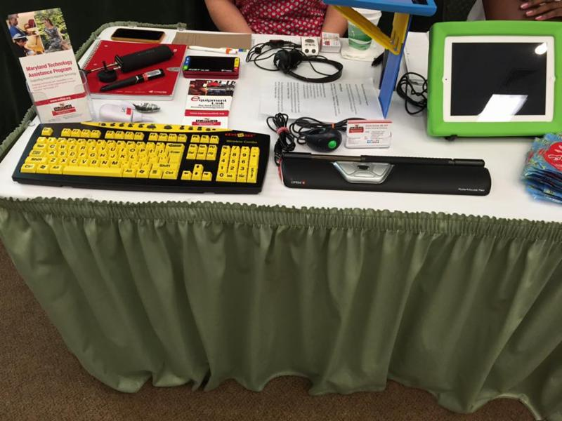 numerouse AT devices on display table