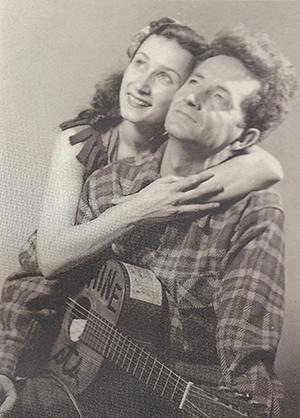 Marjorie and Woody Guthrie