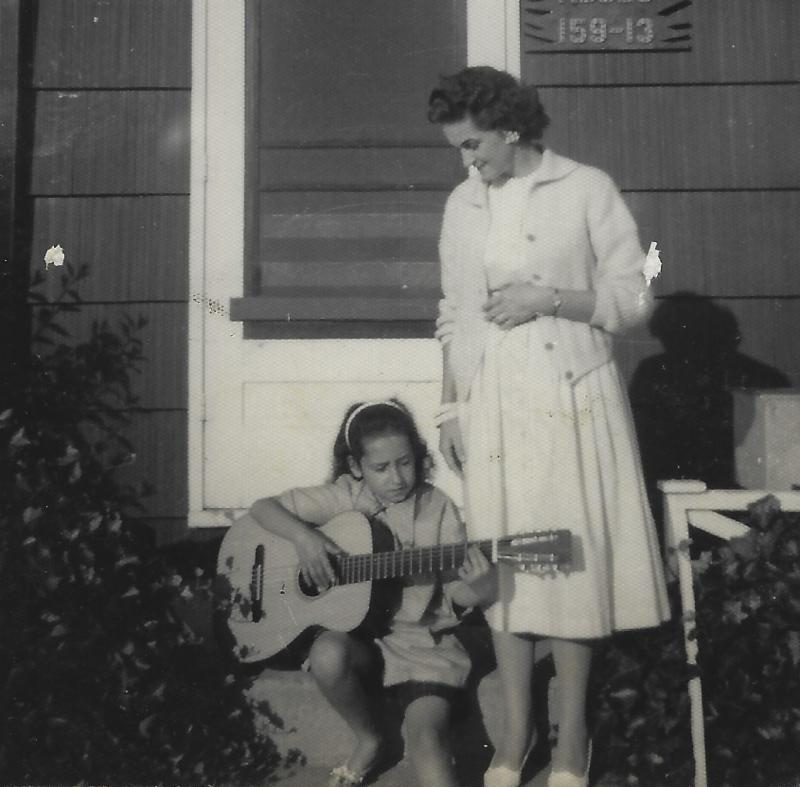 Nora Guthrie and Mary Jo Edgmon