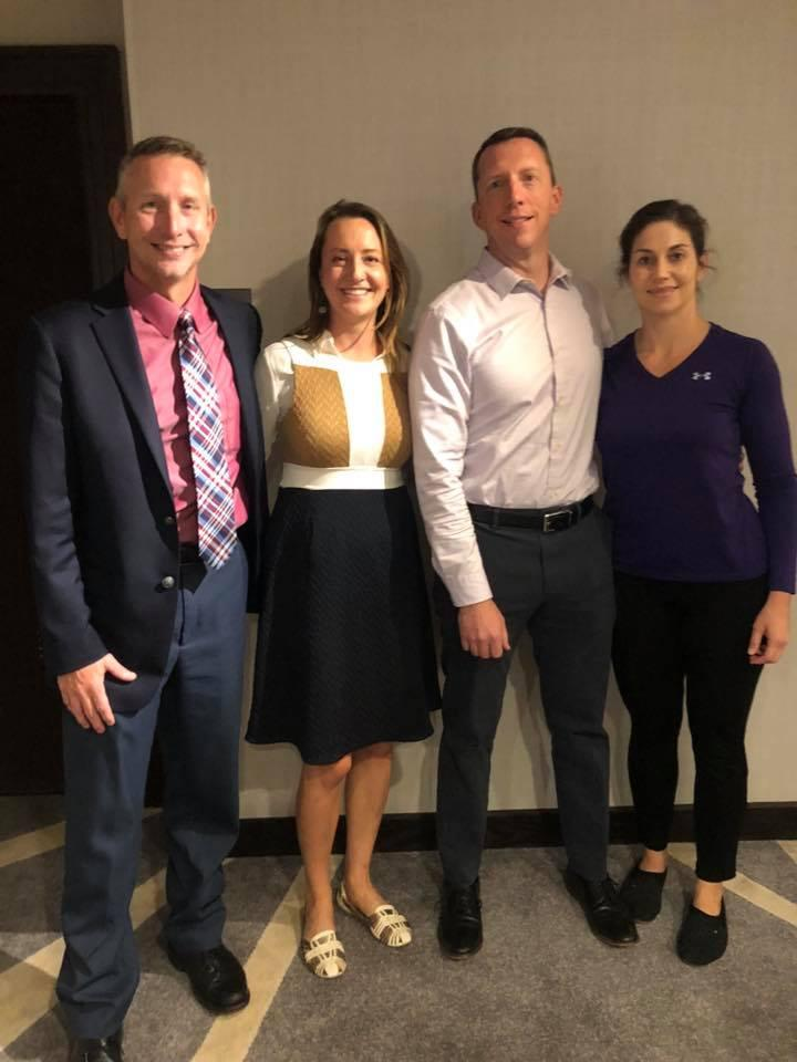 KCHP members Joe Slechta, Kat Miller, Jeff Little and Audrey Kennedy at ASHP Policy Week — with Jeff Little and Audrey Stich Kennedy.