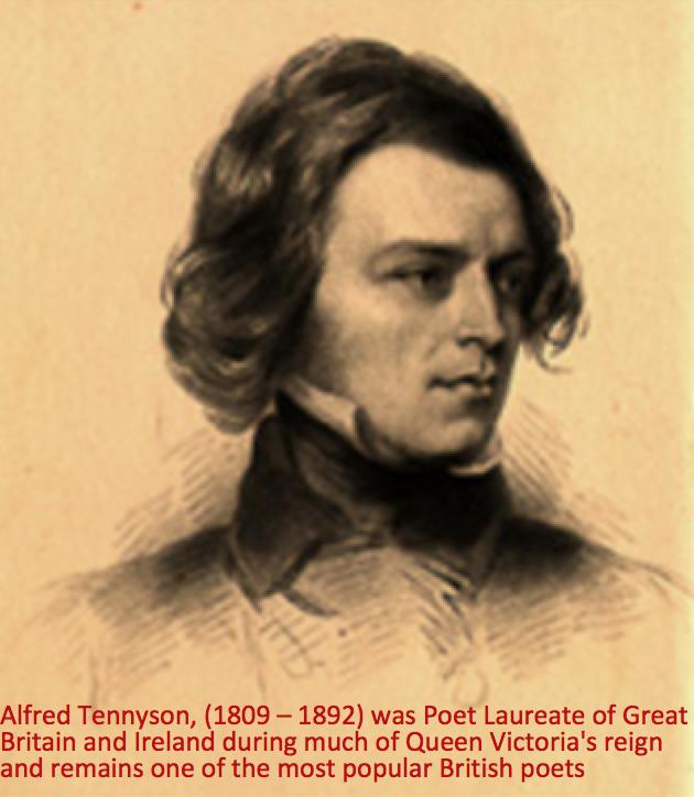 alfred tennyson poet laureate