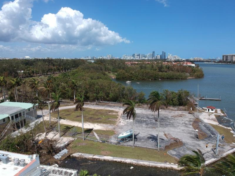 Drone photo of the US Sailing Center