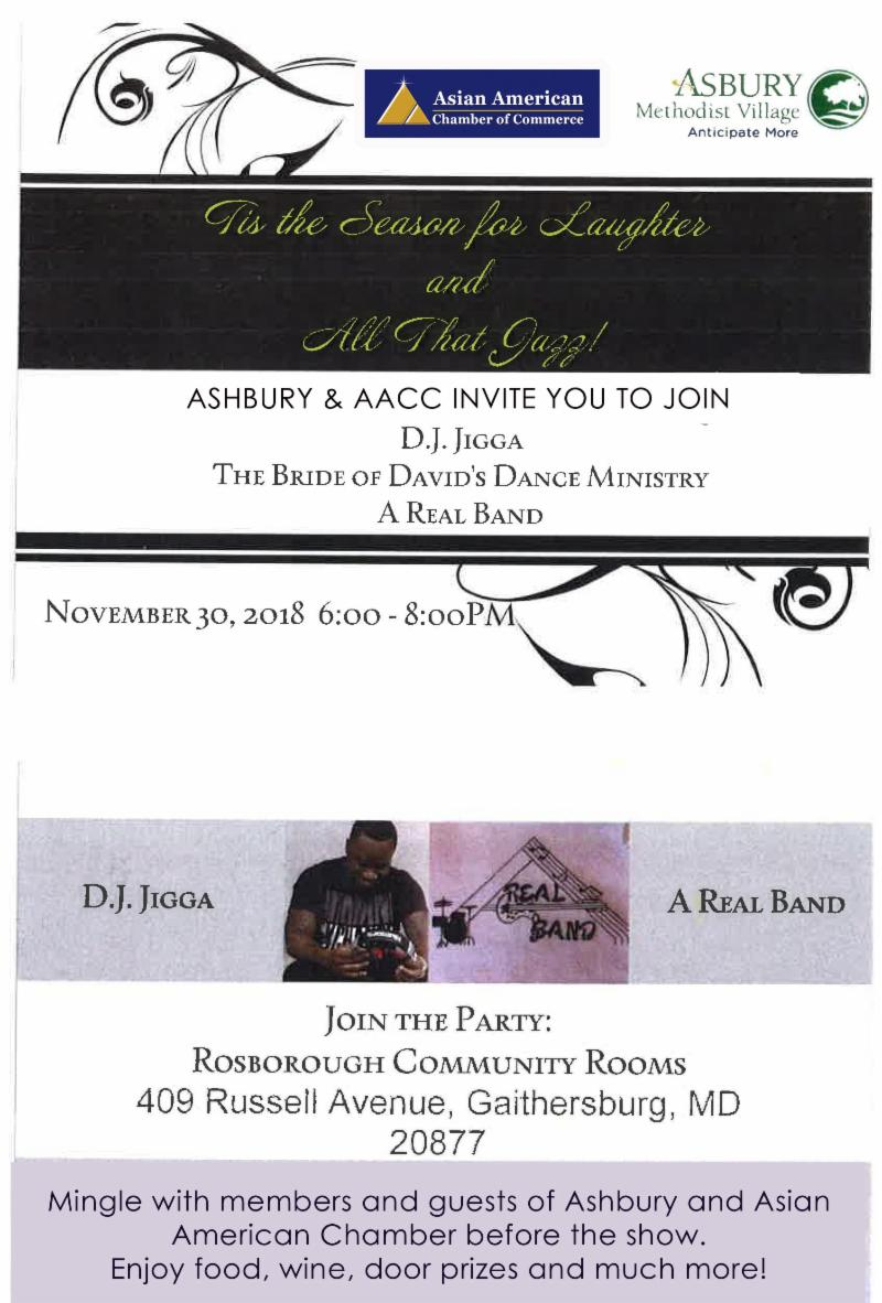 AACC Upcoming Holiday Events