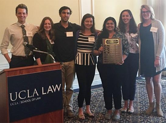 Environmental Law Society Wins Student Organization of the Year