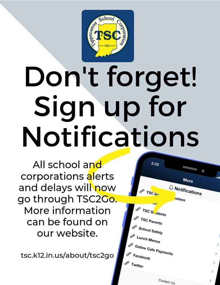 Don't forget to sign up for notifications