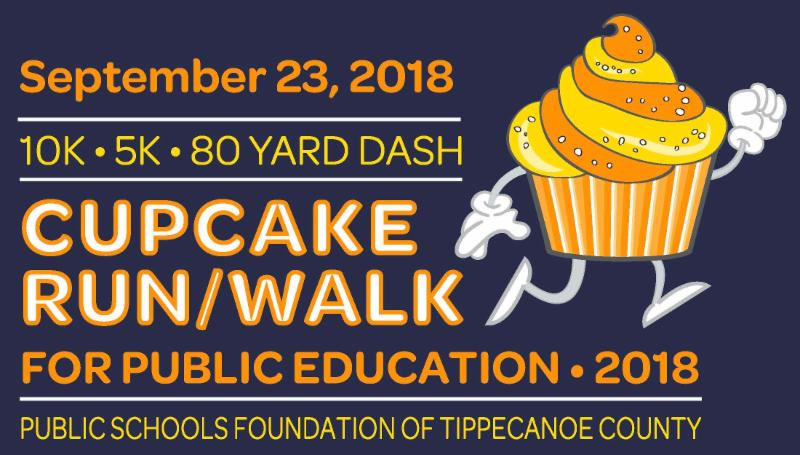 Public Schools Foundation Cupcake run and walk