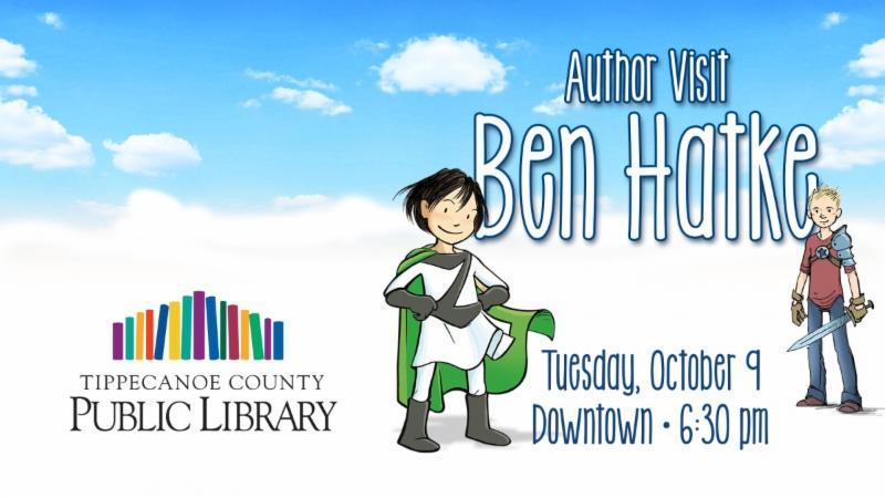 Author visit Ben Hatke
