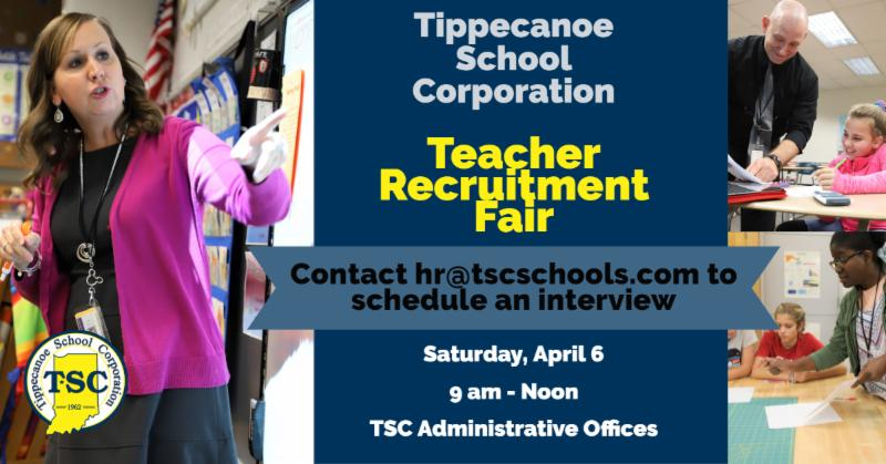 TSC Teacher Fair April 6