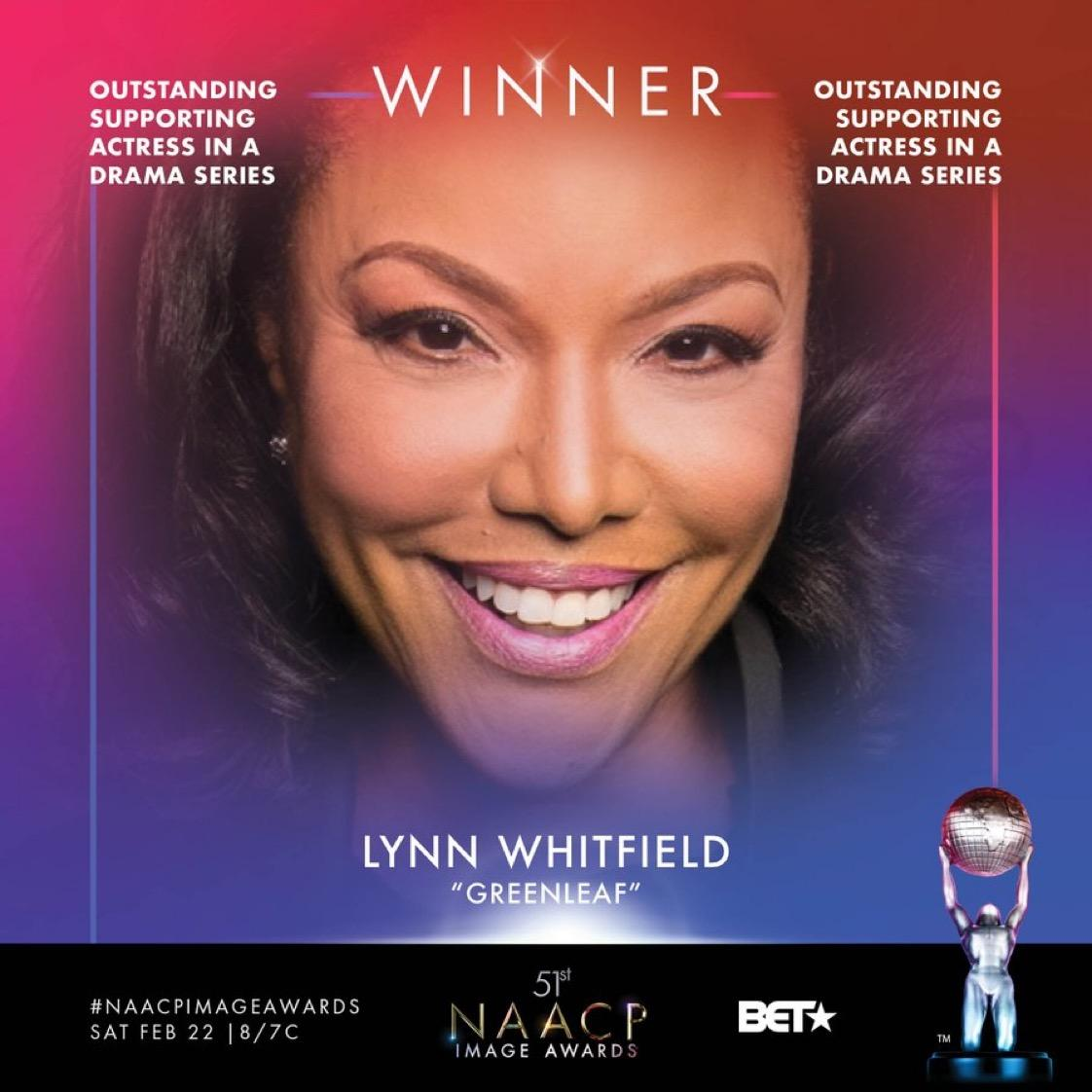 NCAAP Image Award Winner Lynn Whitfield