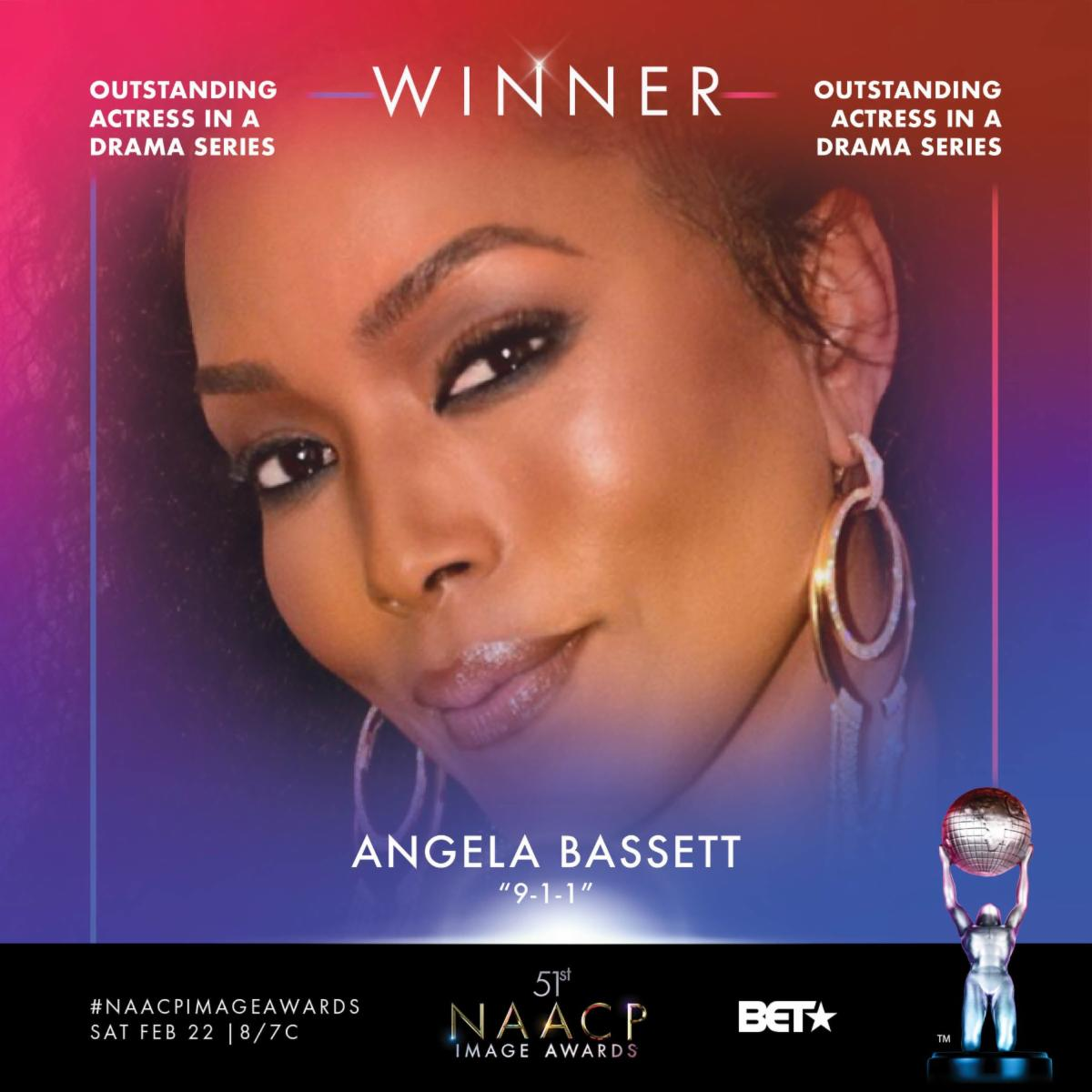 NCAAP Image Award Winner - Angela Bassett