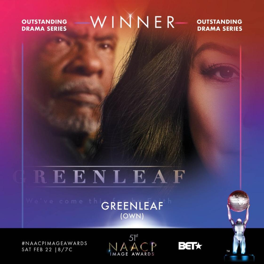 NAACP Image Award Winner Greenleaf