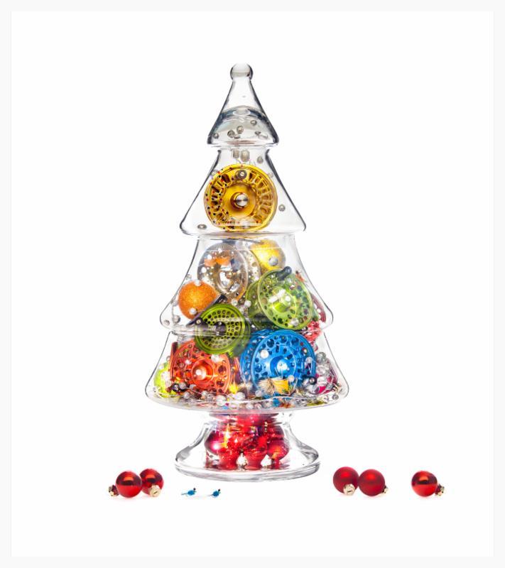Christmas 2014 glass tree