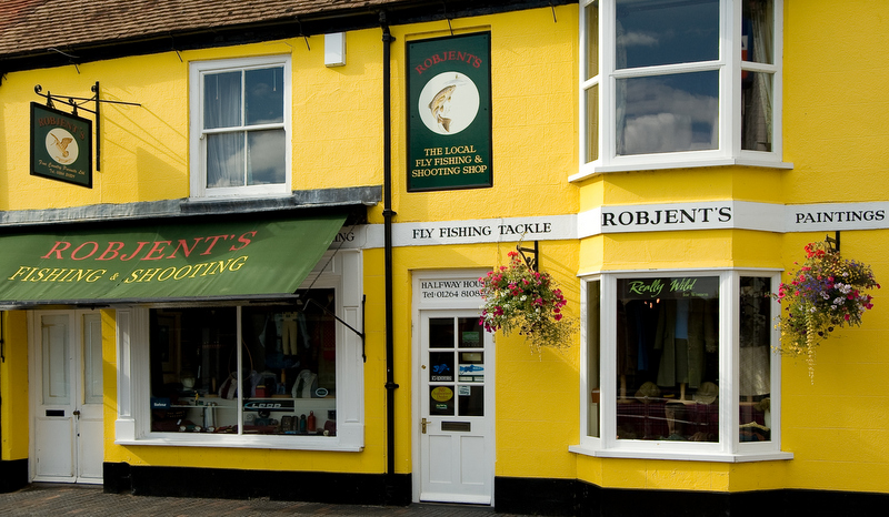 Robjents shop front