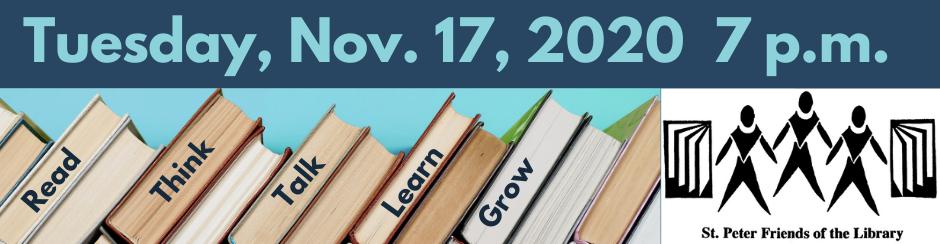 Author Event Nov. 17
