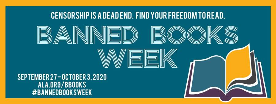 Banned Books Week - Your freedom to read at your library