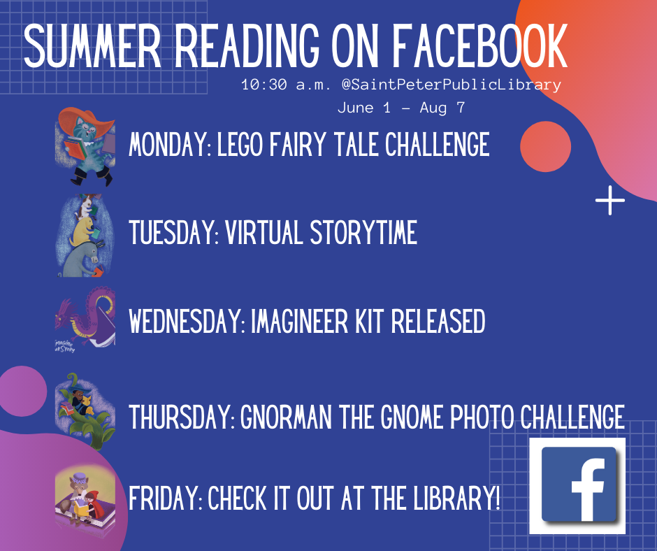 Facebook Posts Summer Schedule