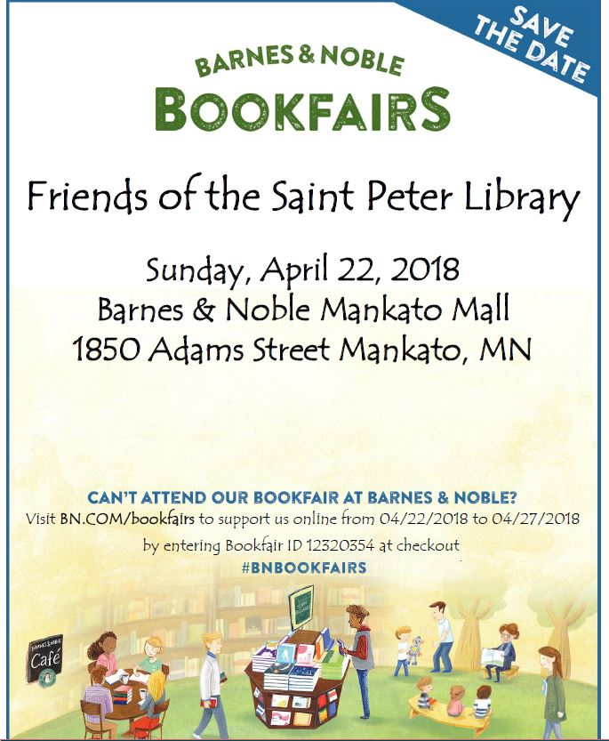 Barnes and Noble Bookfair April 22