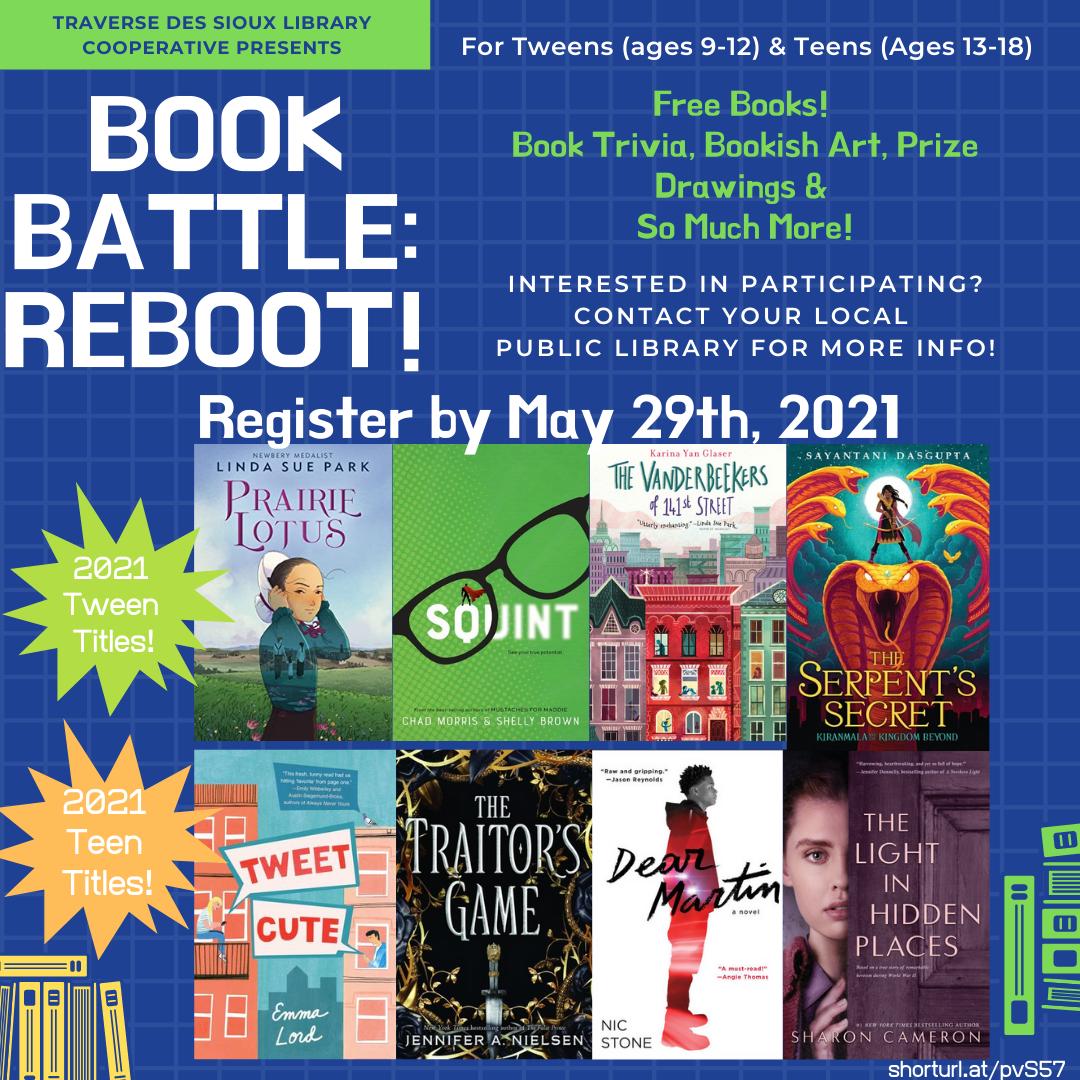 Book Battle Graphic