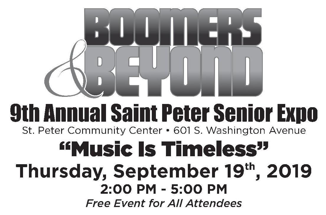 Senior Expo Sept 19 2-5pm