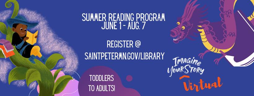 Imagine Your Story - Summer Reading Program - Register on the website!