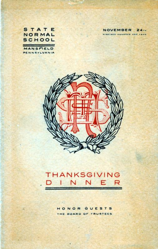 1904 thanksgiving menu
