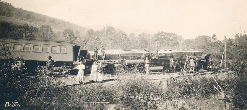 train wreck 1907