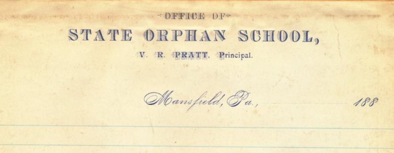 Orphan School Letterhead