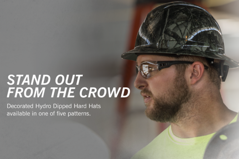 Customized hard hats from Pyramex