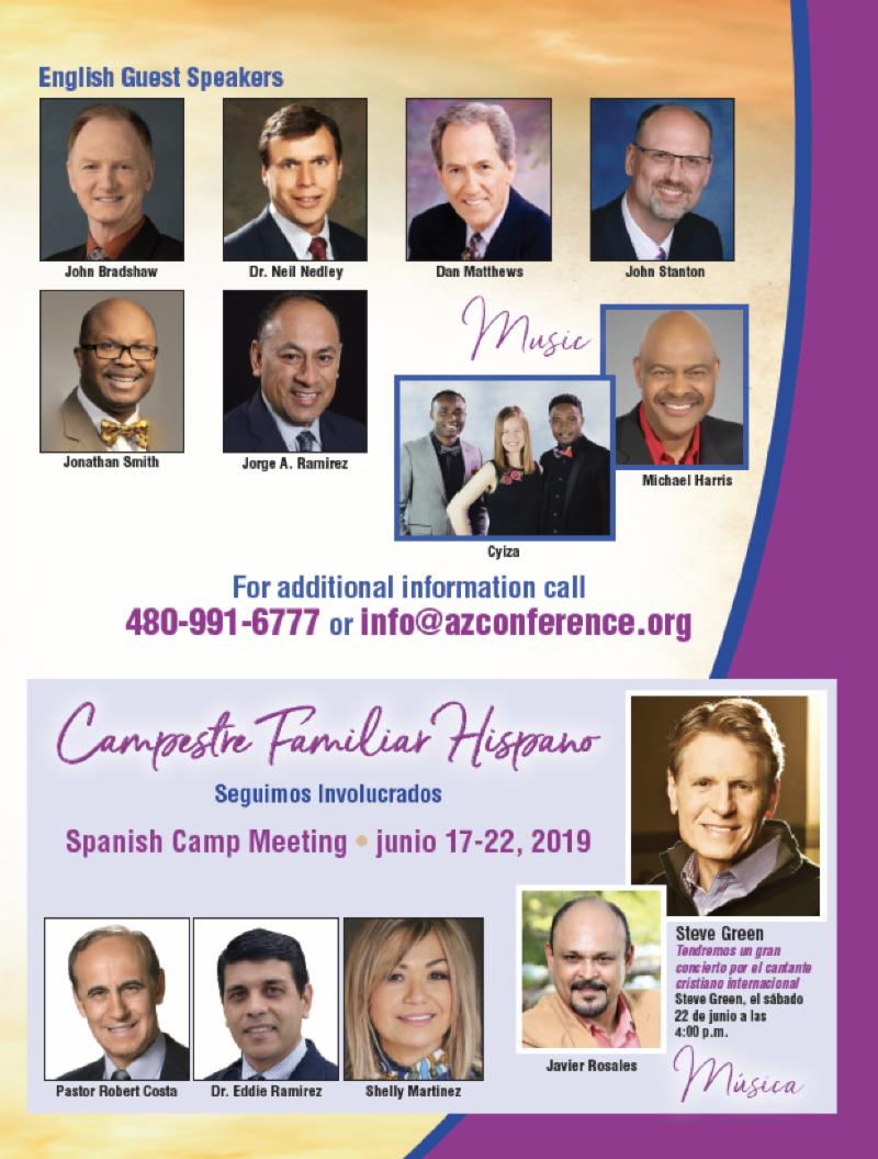 Arizona Connect - Az Conference President : Cottonwood SDA Church