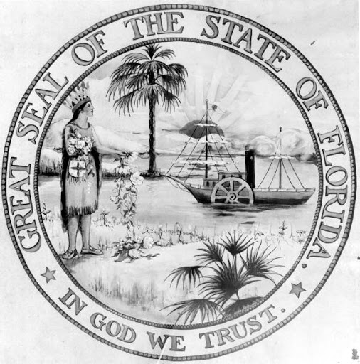 The Great Seal of the State of FL