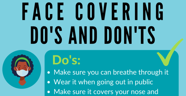 Face Covering Do's and Don'ts