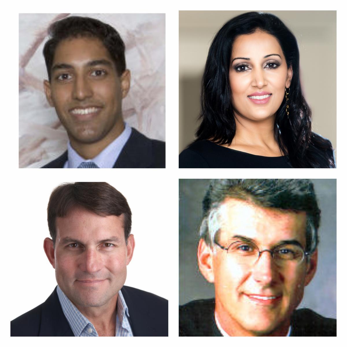 Drs Anurag Agarwal, Kiran Gill, Paul Gardner, and Richard Maloney