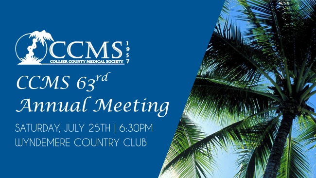 CCMS 63rd Annual Meeting