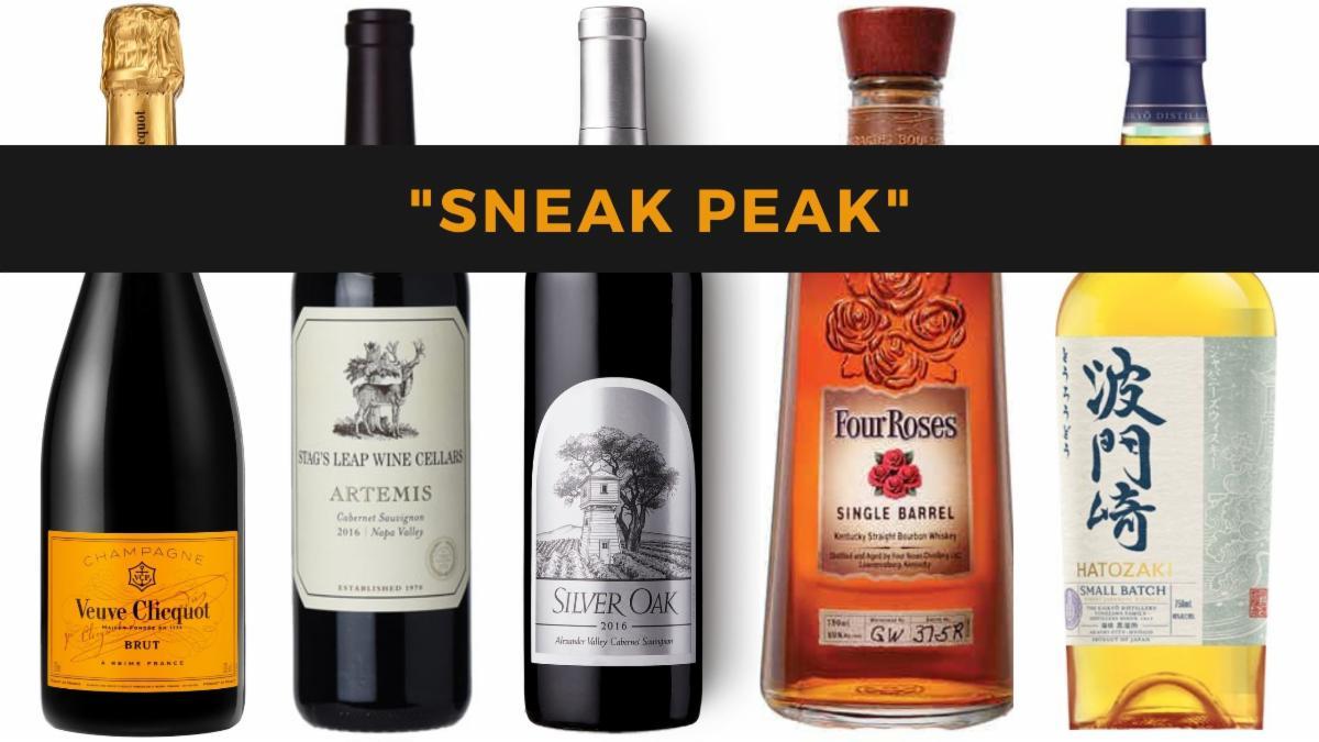Wine and Whiskey Pull - Sneak Peak