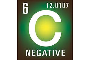 Carbon negative