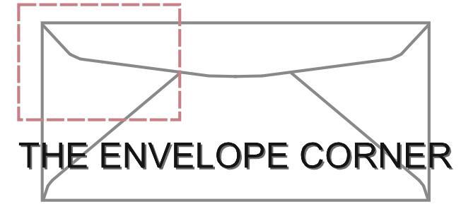 Envelope Corner graphic