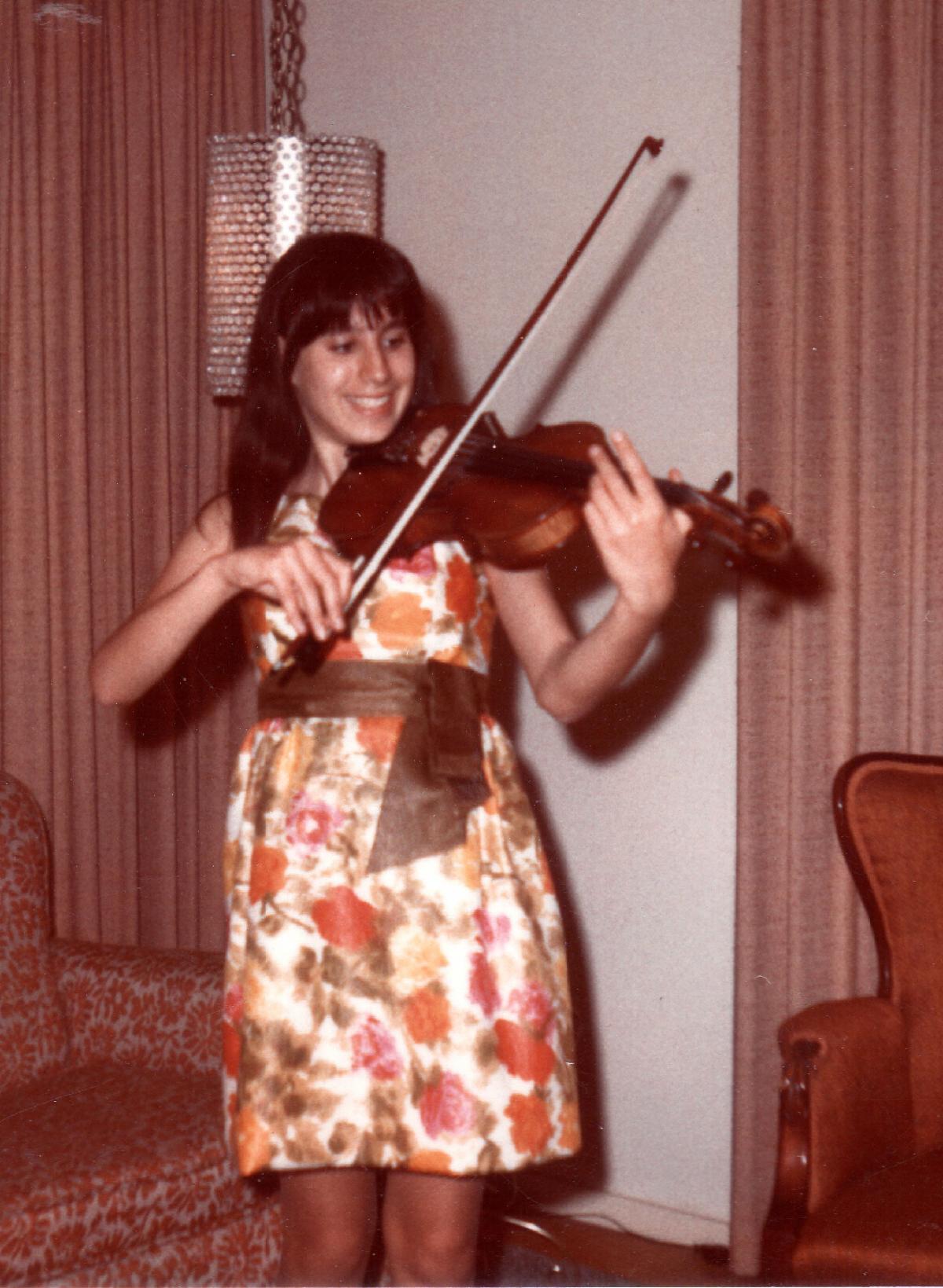 Verlene violin solo