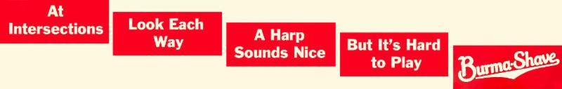 Burma-Shave-Harp